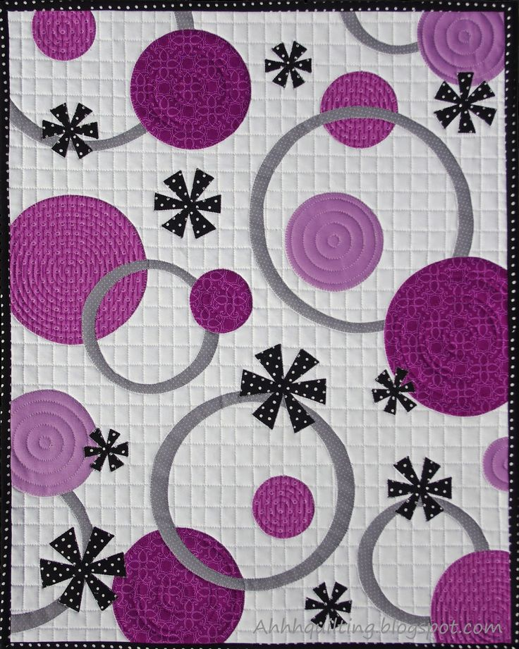 Ahhh...Quilting: Pantone Radiant Orchid Quilt Challenge