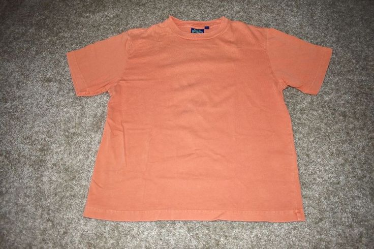 Mini Boden Boys Orange Solid T Shirt Tee Size 9-10y #MiniBoden #TShirt #Everyday