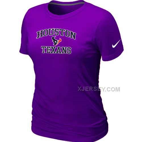 http://www.xjersey.com/houston-texans-womens-heart-soul-purple-tshirt.html Only$26.00 HOUSTON TEXANS WOMEN'S HEART & SOUL PURPLE T-SHIRT Free Shipping!