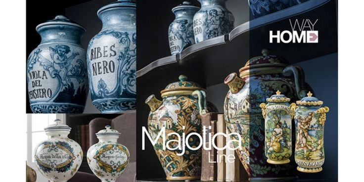 "The ""Vasa Medicinalia"" (Apothecary Jars) witness the historical evolution of the Italian pottery art which, to this day, is still source of pride of the Florentine manufacture... #majolica #decor #manufacture #apothecaryjars #jars"