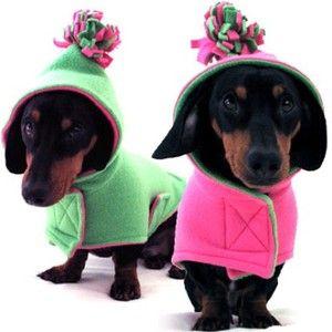 dog coats - too cute!