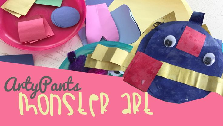 Let The Wild Rumpus Start! Create your own monster just like Where the Wild Things Are. This project is great for any age and preschoolers.