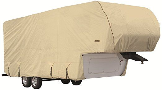 Goldline Premium Long Life RV Cover for 5th Wheel Motor Home Fits 42-44 Foot Tan. http://www.rvandcamper.net/covers.html