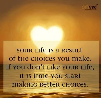 making choices in life essay Why making choices matters  how do your good choices affect your life and the lives of others how can small decisions help you achieve your larger goals.