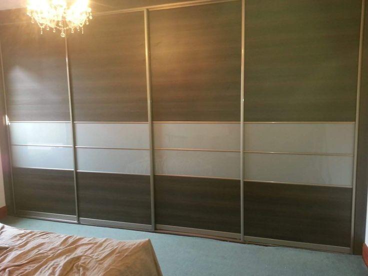 4 door sliding bedroom