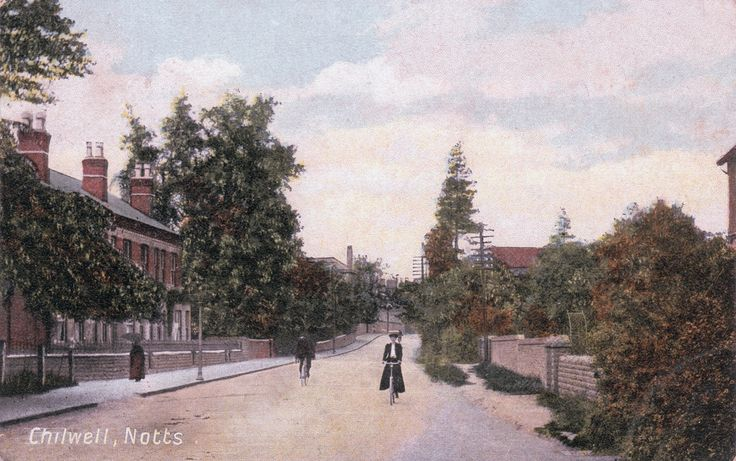 View looking along High Road from near Christ Church towards Beeston. Postcard dated 27th August, 1908.