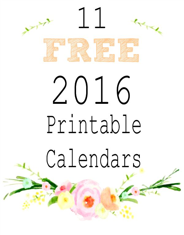 256 best images about Free Printable Calendars Organizers on – Free Printable Calendar