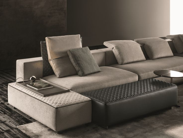 yang corner sofa by minotti design rodolfo dordoni. Black Bedroom Furniture Sets. Home Design Ideas