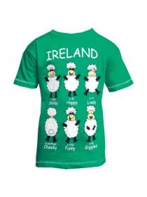 Kids Happy Sheep T Shirt