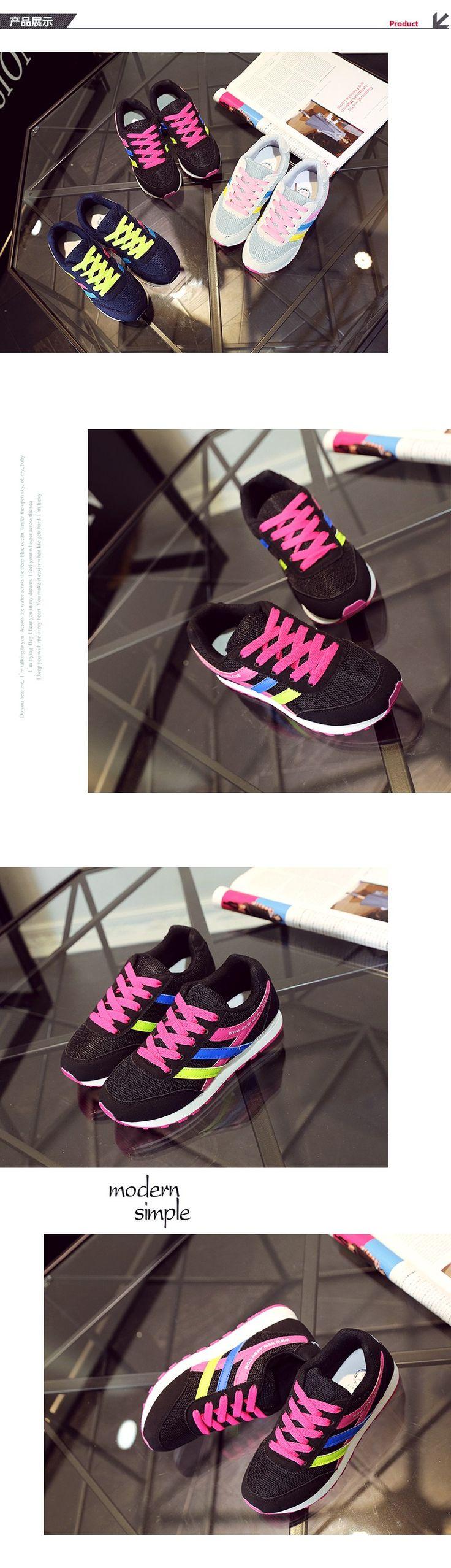 2016 горячая дыхания женщин свободного покроя обувь весна полосатый кружева up zapatillas deportivas mujer хлопок квартиры обувь женщина тренеры купить на AliExpress