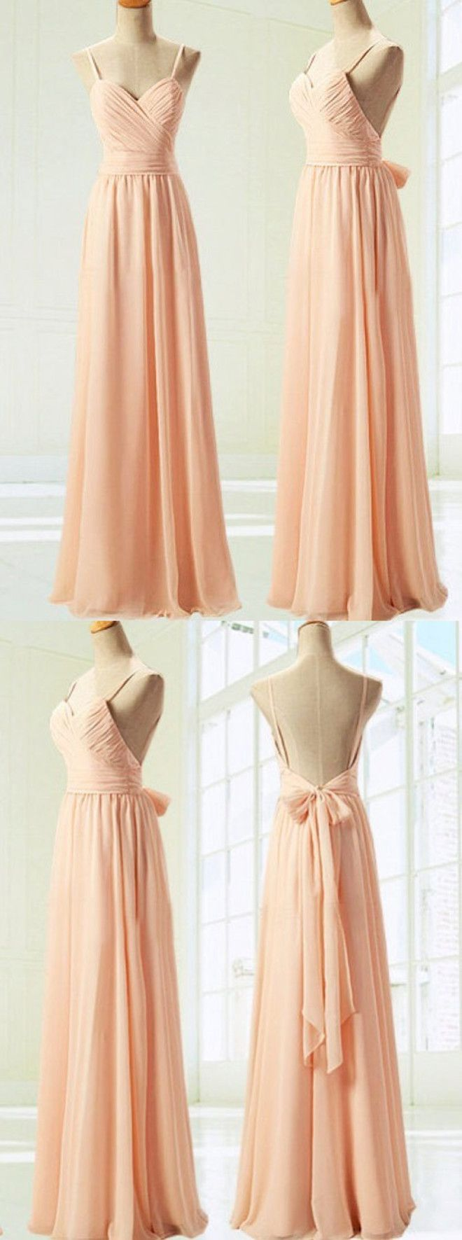long bridesmaid dresses,backless bridesmaid dresses,chiffon bridesmaid dresses,wedding party dresses @simpledress2480