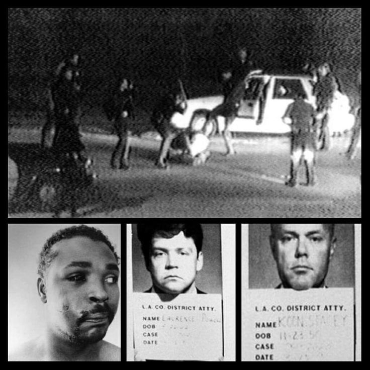 Black Then​August 4, 1993: A Federal Judge Sentences LAPD Officers In The Rodney King Case. | Black Then