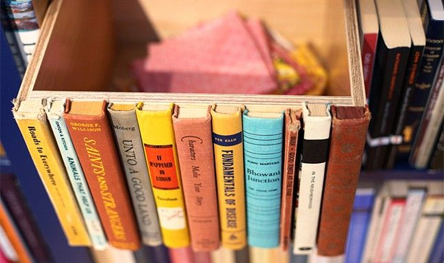 18 Ways to Upcycle Books (not that I have a lot but this is cute)