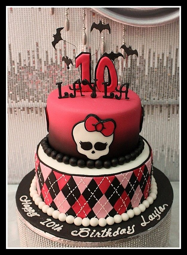 19 Best Monster High Cakes Images On Pinterest Monster High Cakes