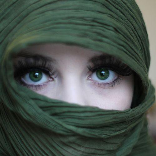 yeux d'émeraude