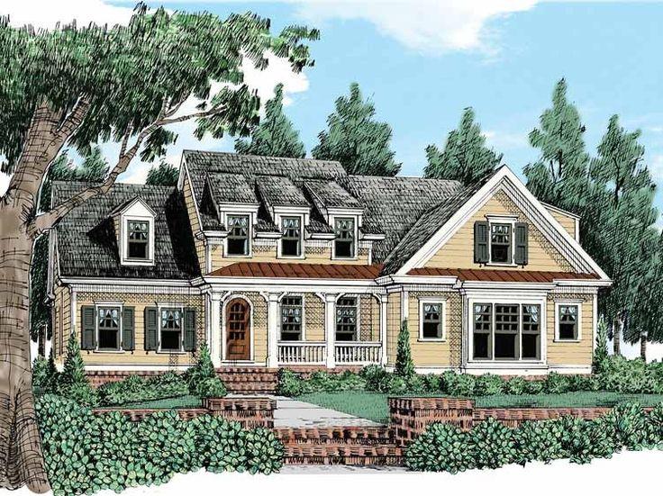 Eplans Cottage House Plan Plenty Of Curb Appeal 2891