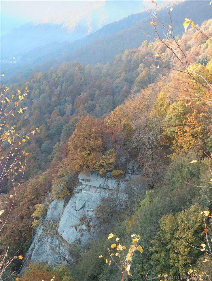 Autumn colors above Biella (Italy)