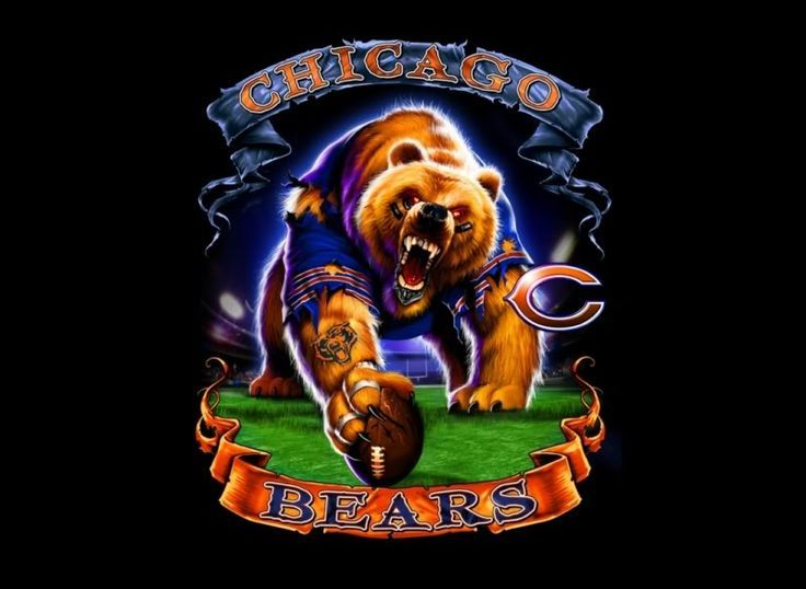 Chicago Bears | Free Download Wallpapers Bears Chicago Liquid Blue Pictures Images And ..