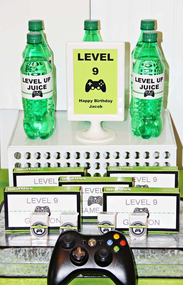 Xbox Birthday Party Ideas | Photo 1 of 10