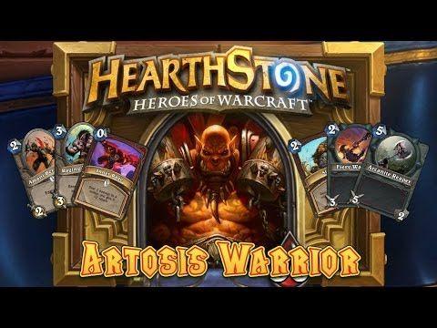 ▶ Hearthstone Deck Spotlight: Artosis Warrior (Blizzcon 2013 Champion) - YouTube
