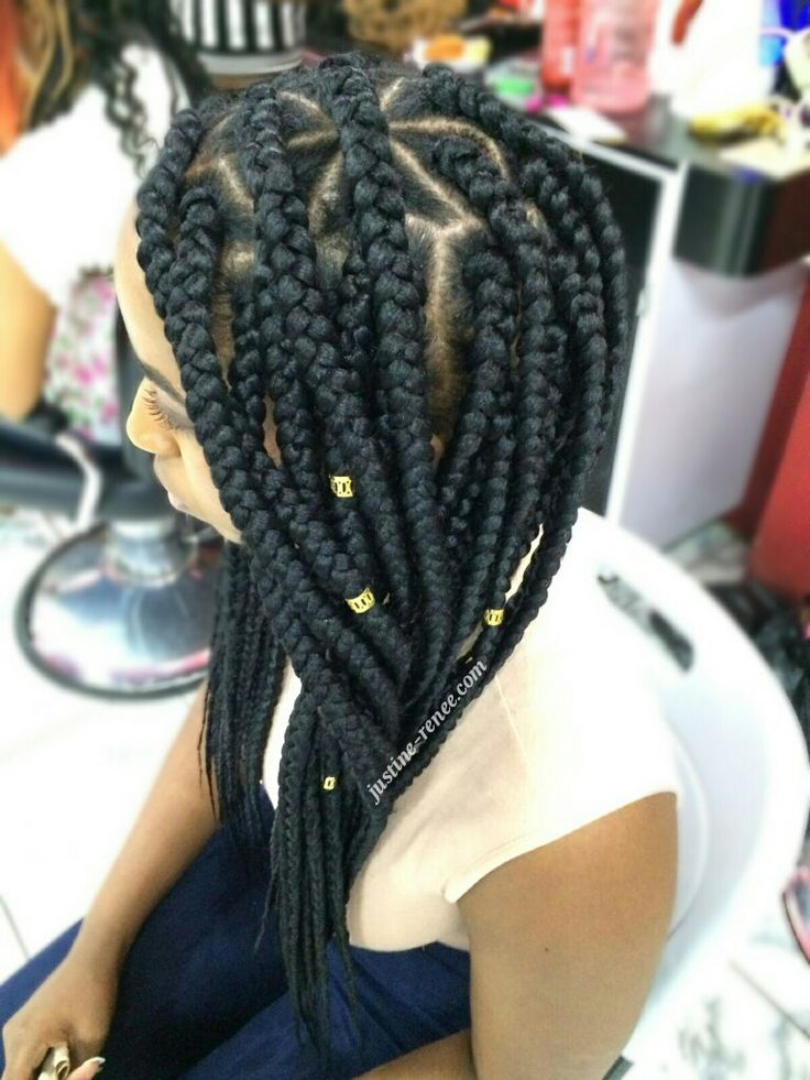 Jumbo Box Braids 3 Florida Pinterest Hairstyles