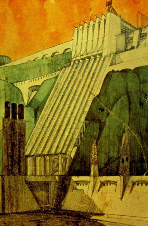 Antonio Sant'Elia. Early 20th century Italian Architect. Futurist. Underrated. Under appreciated. Visionary.
