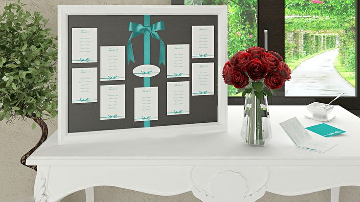 Classico ed elegante Tableau mariage
