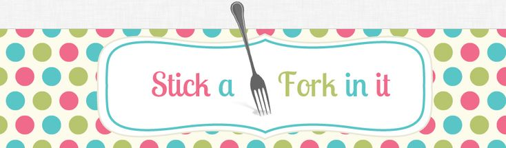 Stick a Fork in it - Great back to basics food blog.  She's on Pinterest too....
