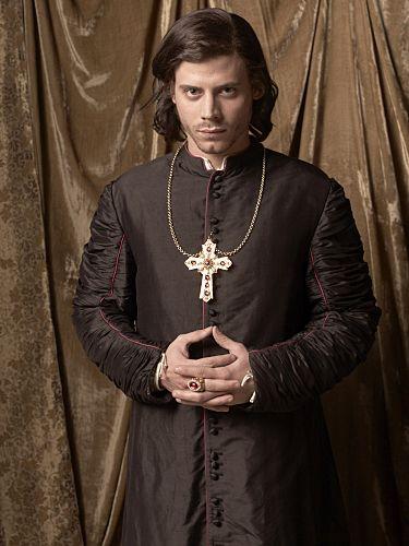 Francois Arnaud as Cesare Borgia.