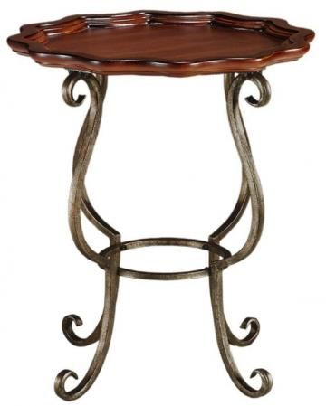 The Jardinier Iron Side Table will give your living room a rustic, elegant look that is off the beaten path. Its iron and wood construction make it durable enough to stand up to years of constant use, while its distinctive style will look great in a wide range of home decor. Add this timeless piece to your space today.