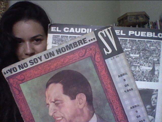 Feliz con mis nuevos LP/Vinilos/Long Play con los discursos de Jorge Eliecer Gaitan :)  Nos vemos mañana en la marcha del 9 de abril.