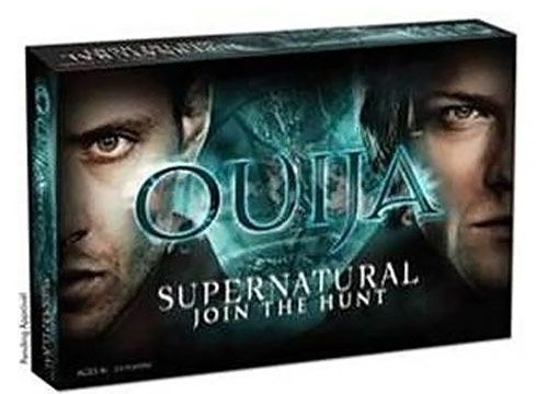 Supernatural Ouija Board Game - I really don't think the boys would approve of a demon summoning board with their faces on it... <--- no they wouldn't