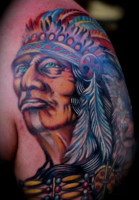 17 best ideas about indian chief tattoo on pinterest headdress tattoo indian head tattoo and. Black Bedroom Furniture Sets. Home Design Ideas