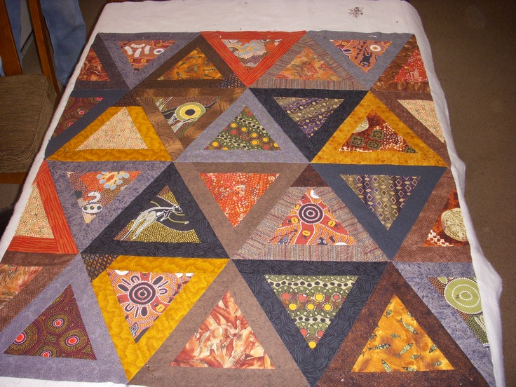 9 Best Quilts With Aboriginal Fabris Images On Pinterest