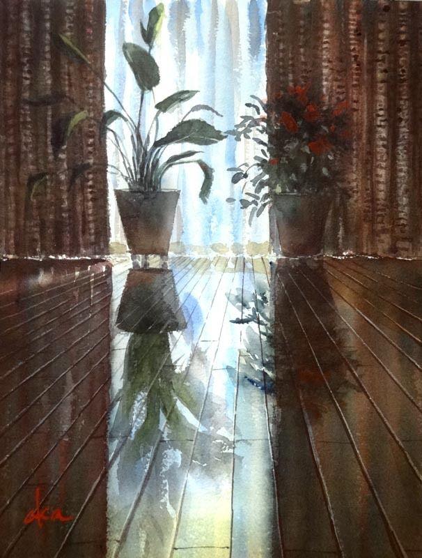 水彩 : 赤坂孝史の水彩画