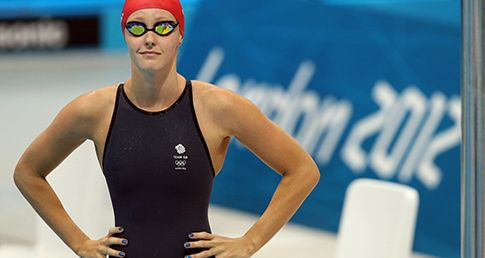 Sort your Planks from your Push-ups with Olympian Fran Halsall's core exercises for swimmers.