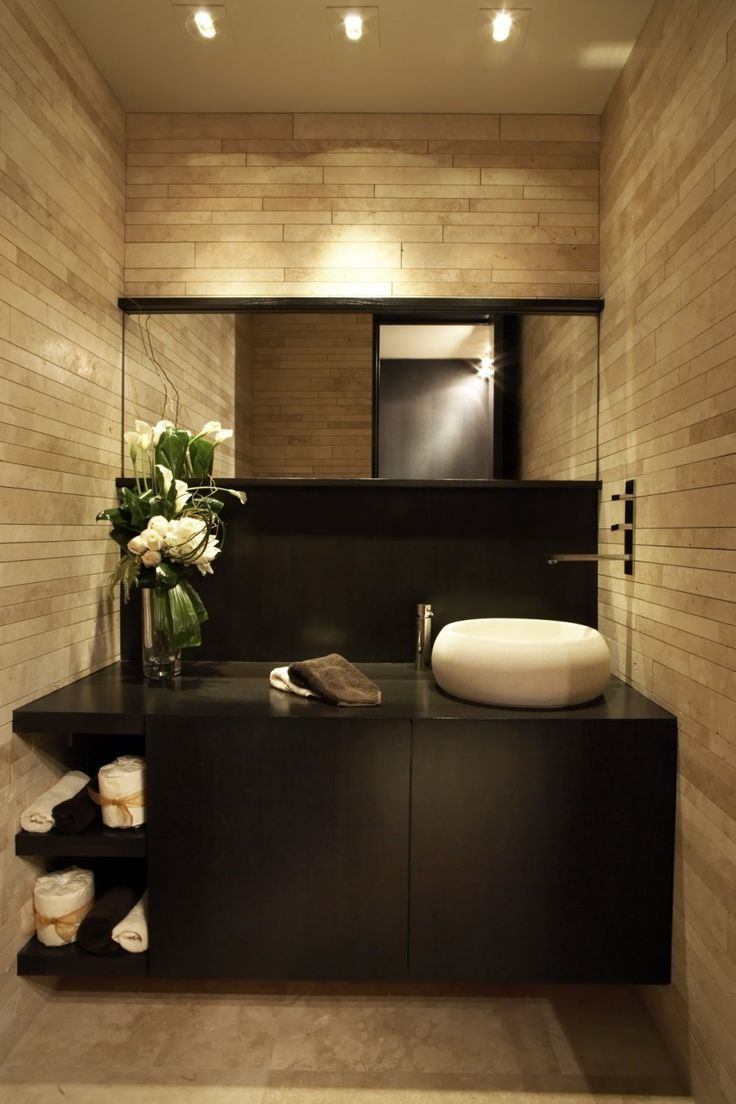 Lovely The Beck Residence By Horst Architects With Wall Mount Faucet On Side Of Vessel  Sink