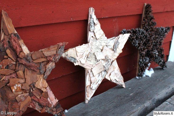 tee itse,tähti,luonnonmateriaali,koivu,kaarna
