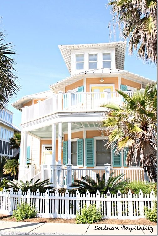536 best home by the sea exterior paint colors images on for Florida house paint colors