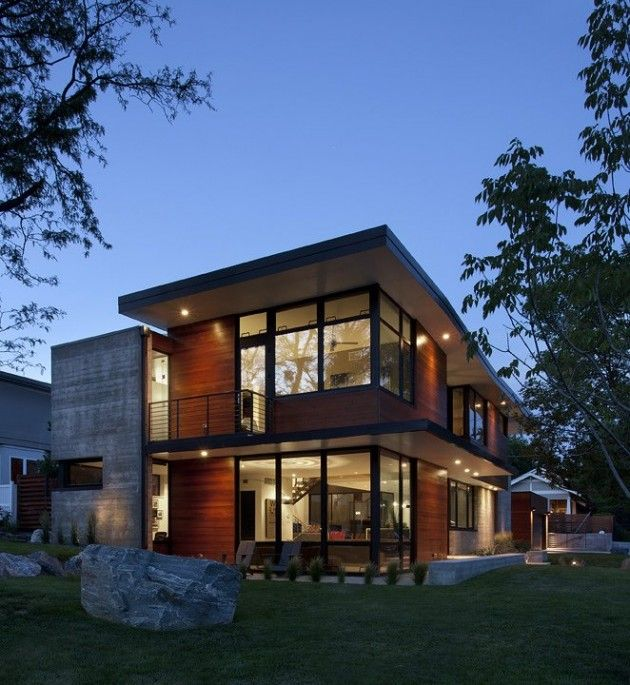 Arch11 have designed the Dihedral House for a young family in Boulder, Colorado.