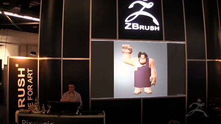 ZBrush at SIGGRAPH 2013-Walt Disney Animation Studios Part 1