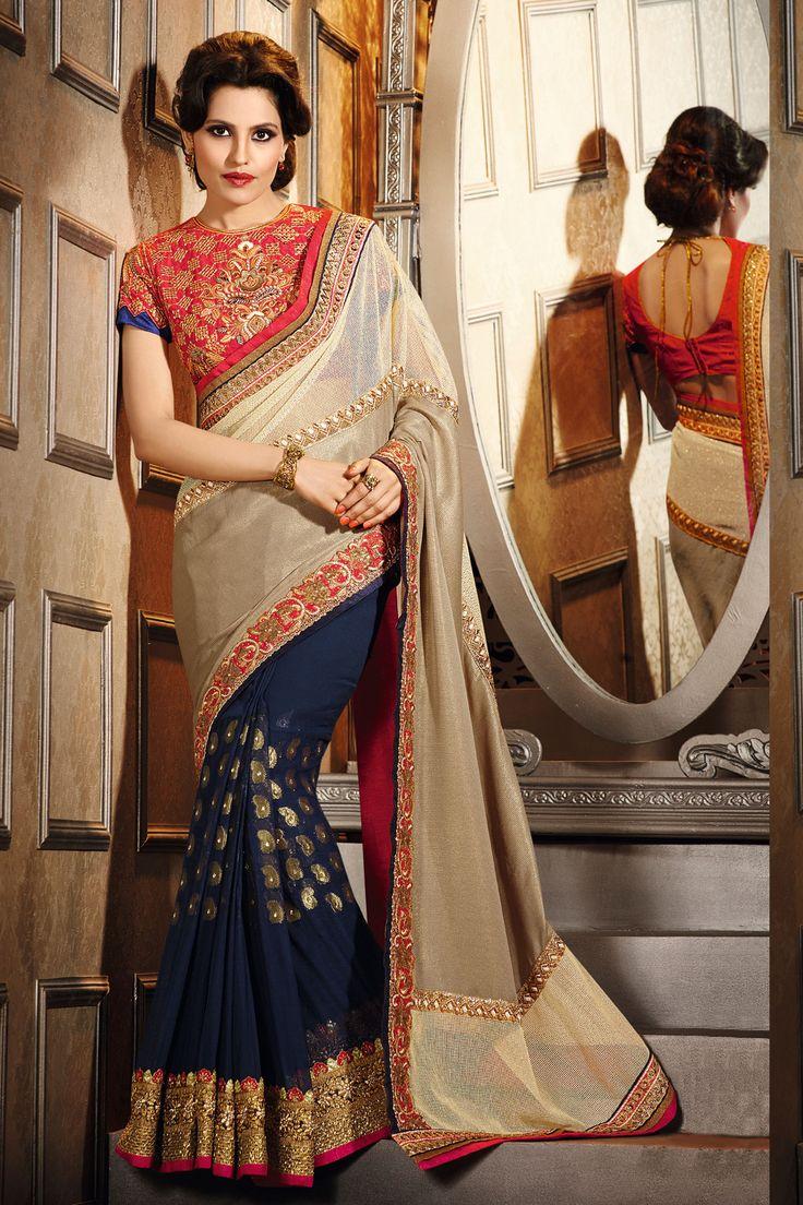 #designer #party #sarees @ http://zohraa.com/cream-faux-georgette-saree-z2821p7611-2.html #celebrity #zohraa #onlineshop #womensfashion #womenswear #bollywood #look #diva #party #shopping #online #beautiful #beauty #glam #shoppingonline #styles #stylish #model #fashionista #women #lifestyle #fashion #original #products #saynotoreplicas