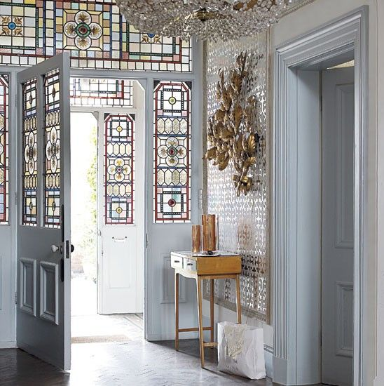 Hallway | Quirky and eclectic mansion house tour | housetohome.co.uk