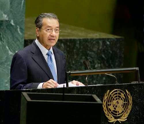 malayan fighter: 7 Sindiran Tun Mahathir kepada orang cina