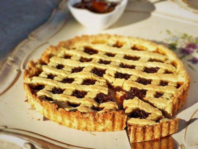 Crostata di marmellata ai fichi / Rustic Jam Tart with Fig jam