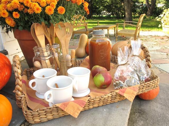 Jenny Steffens Hobick: Pumpkin Carving Party | Front Porch Pumpkin Carving Party