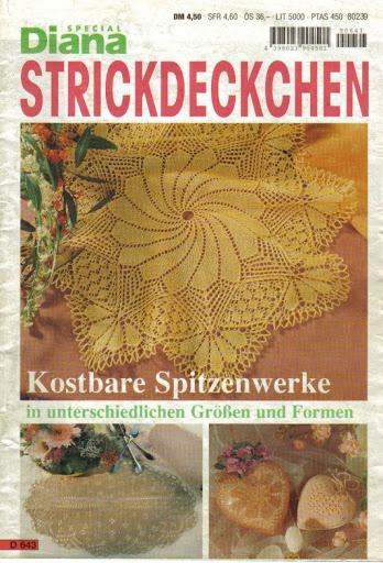 Diana Special - D 643 Strickdeckchen – Alex Gold – Picasa tīmekļa albumi