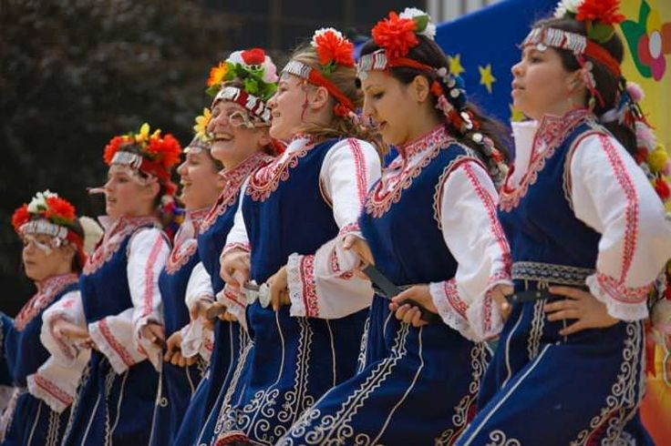 Traditional Bulgarian folk dancing is a riot of colour, costumes and fancy footwork. Image by Keren Su / Lonely Planet Images / Getty Images