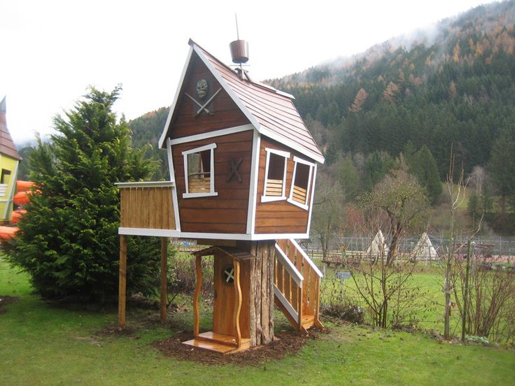 17 Best Images About Tree Houses For Kids On Pinterest