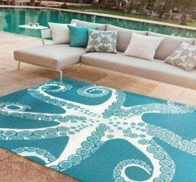 Nautical Outdoor Carpet - Carpet Vidalondon